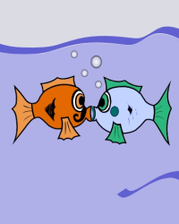 Wallpaper Fische
